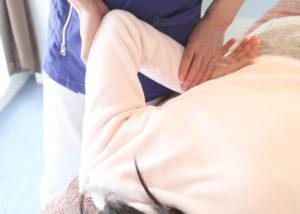 ゆるふわな優しい施術で腰痛や肩こりを改善